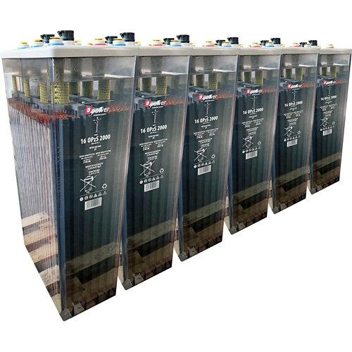 Bateria u-power opzs 2000 12v estacionaria