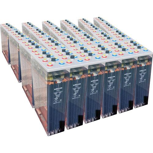 Bateria u-power opzs 2500 48v estacionaria