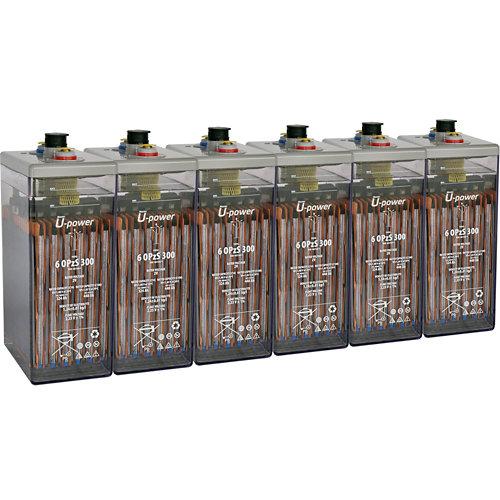 Bateria u-power opzs 300 12v estacionaria