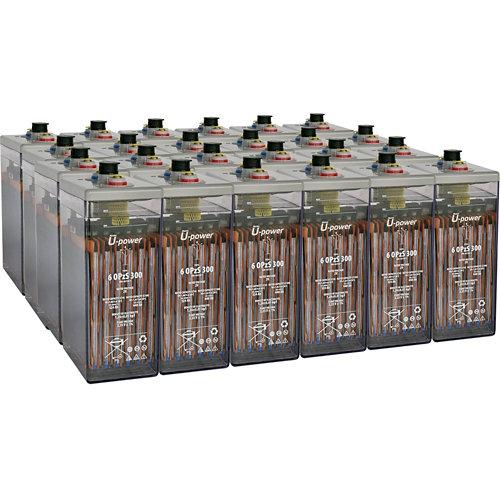 Bateria u-power opzs 300 48v estacionaria