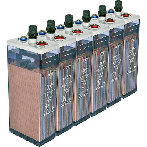Bateria u-power opzs 350 12v estacionaria