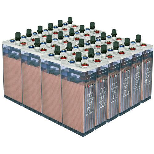 Bateria u-power opzs 350 48v estacionaria