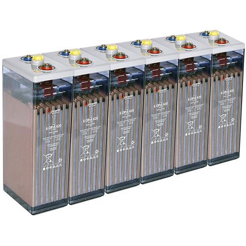 Bateria u-power opzs 420 12v estacionaria
