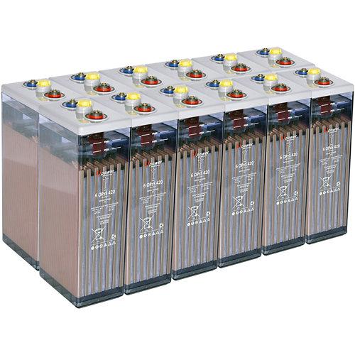 Bateria u-power opzs 420 24v estacionaria