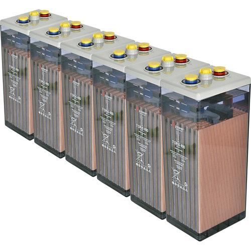 Bateria u-power opzs 490 12v estacionaria