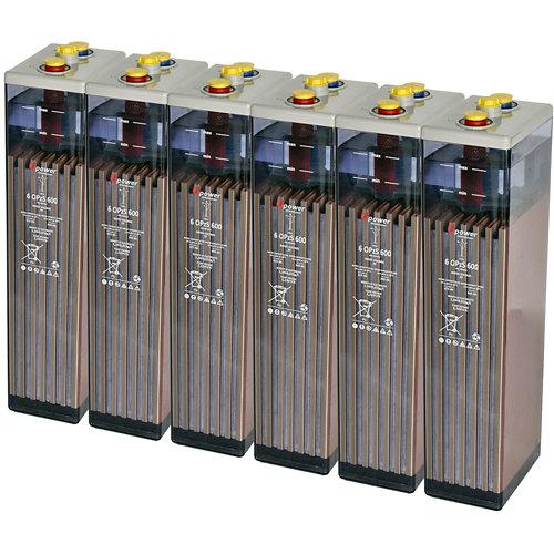 Bateria u-power opzs 600 12v estacionaria