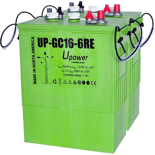 Bateria, u-power gc16re pack 12v