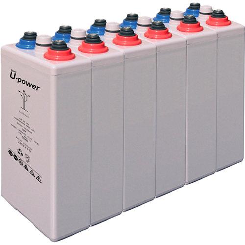 Bateria u-power opzv 490 12v estacionaria gel