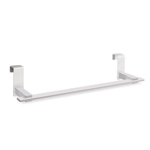 Toallero para colgar mueble baño cromo 35 cm siena