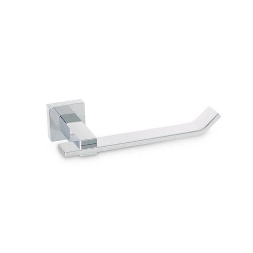 Toallero gris / plata cromado brillante 18x3.5 cm
