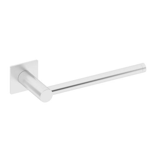 Toallero gris / plata brillante 22x5.5 cm
