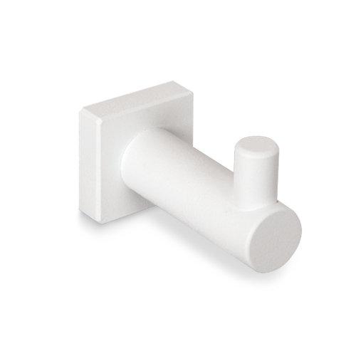 Percha de baño asís blanco mate