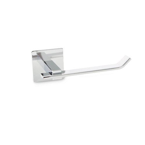 Portarollo wc gris / plata brillante 14.5x5.5x7.5 cm