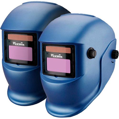 Lote 2 pantallas electrónicas de soldadura cevik con regulación automática