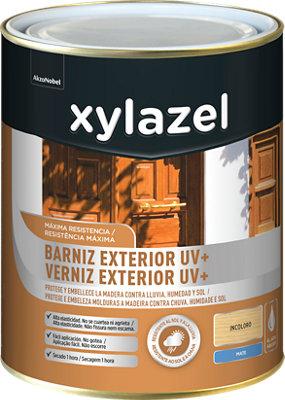 Barniz exterior uv plus mate XYLAZEL 750 ml natural