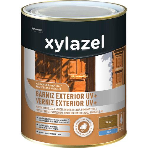 Barniz exterior uv plus mate xylazel 750 ml sapeli