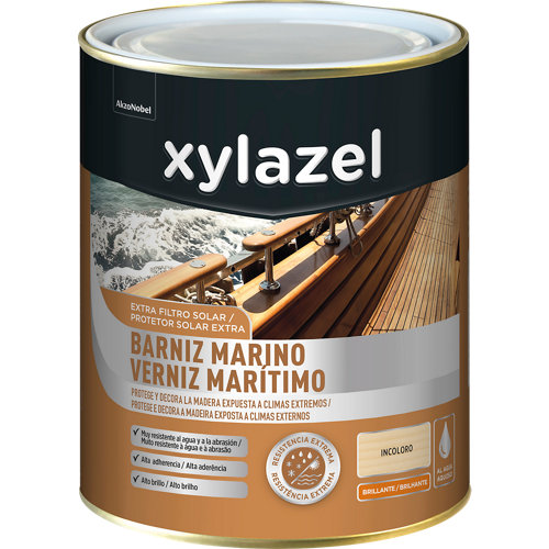 Barniz marino xylzazel brillante 750 ml incoloro