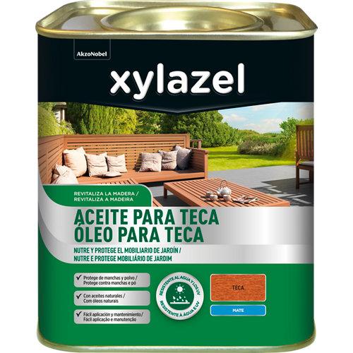 Aceite teca xylazel 4l incoloro