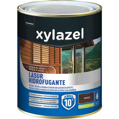 Protector de madera hidrofugante satinado xylazel 2.5 l wengué