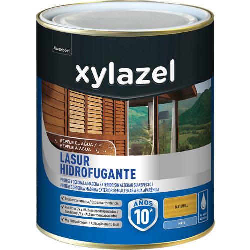 Protector de madera hidrofugante mate xylazel 2.5 l natural