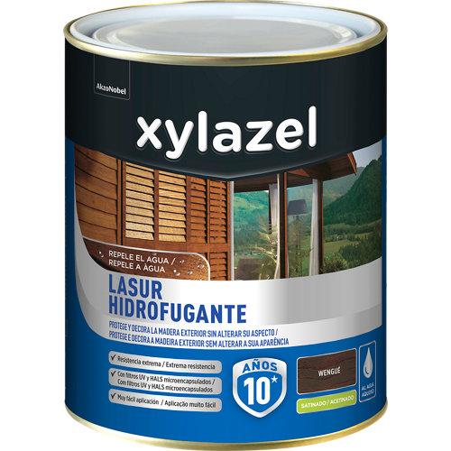 Protector de madera hidrofugante satinado xylazel 750 ml wengué