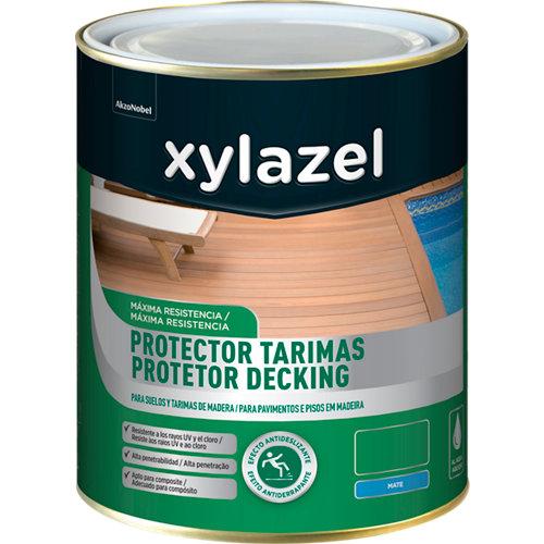 Protector de tarimas xylazel 2,5 l nogal