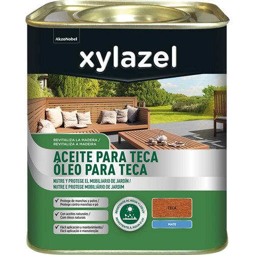 Aceite de teca xylazel 750 ml teca