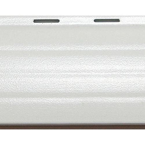 Lote 60 lamas de aluminio en blanco para persiana de 3,7x150 cm