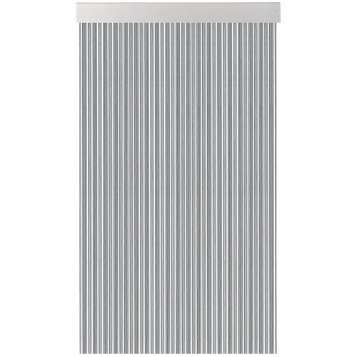 Cortina de puerta acudam cinta s370 gris-cristal 90x210 cm