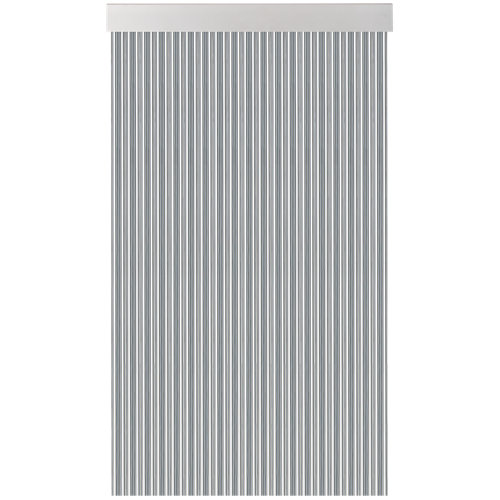 Cortina de puerta acudam cinta s370 gris-cristal 100x235 cm