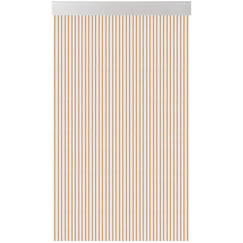 Cortina de puerta acudam cinta s360 miel 100x220 cm