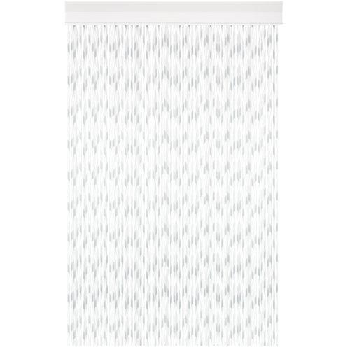 Cortina de puerta acudam inca blanco 95x215 cm