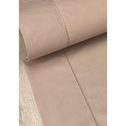 Sábana bajera algodón beige para cama 90 cm