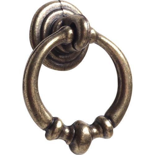 2 tiradores anilla d34mm bronce