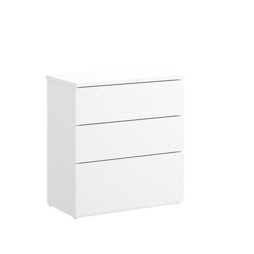 Cajonera 3 cajones blanco 58x52x34cm
