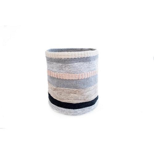 Cesta de algodón de 30x25x30 cm plegable