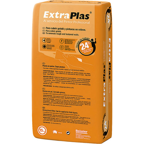 Plaste en polvo extraplast renovación goetle 15 kg nara