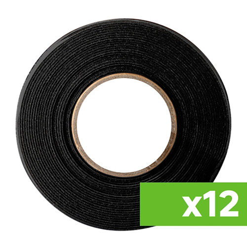 Lote 12 cintas antideslizantes adhesivas negras