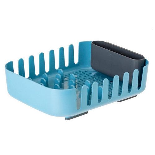 Escurrevajilla y cubiertos rengø azul 38.5x29x10.5