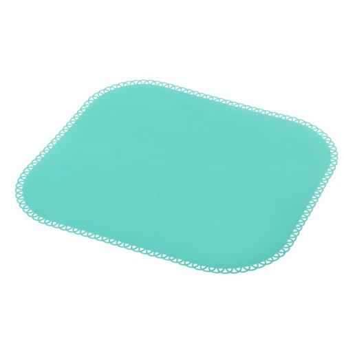 Salvamantel silicona maid 40x35cm turquesa 40x35cm