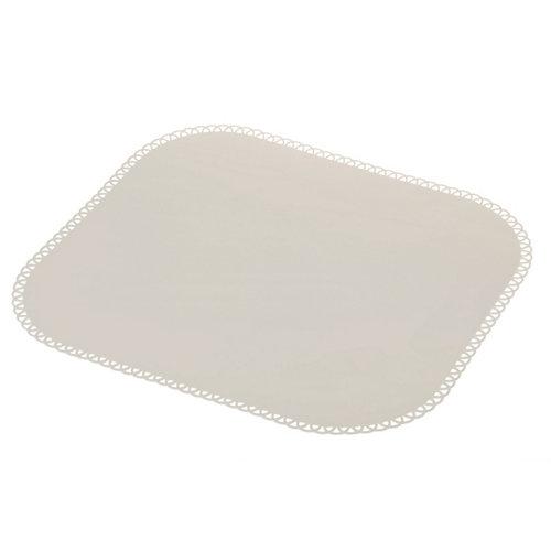 Salvamantel silicona maid 40x35cm gris claro 40x35cm