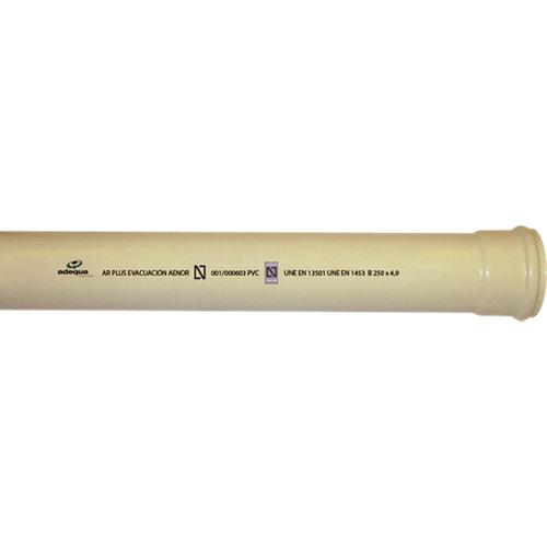 Tubo pvc multicapa ar- ø90 3m