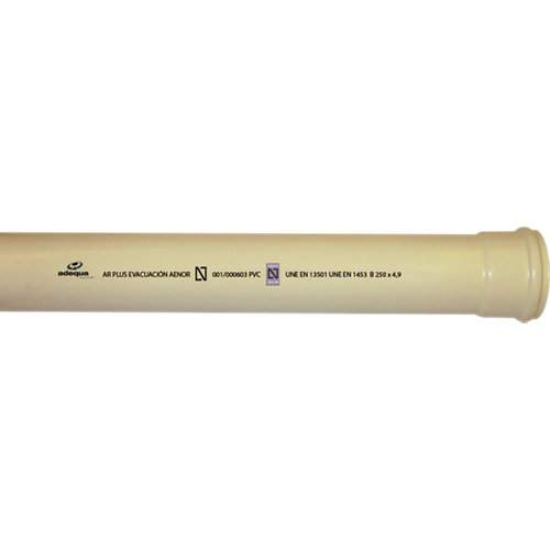Tubo pvc multicapa ar- ø110 3m