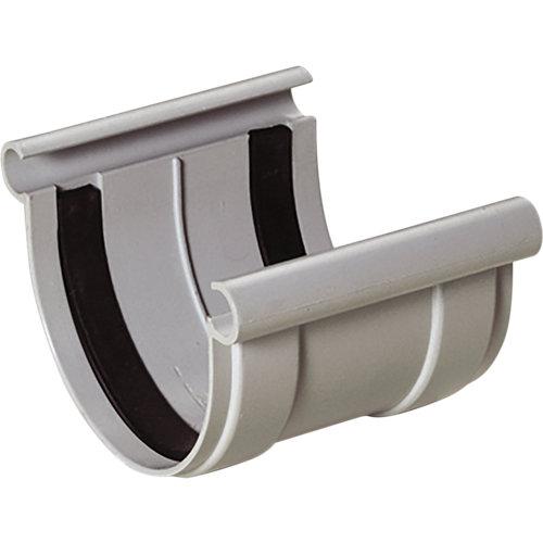 Unión de perfil para canalón gris claro 250 cm