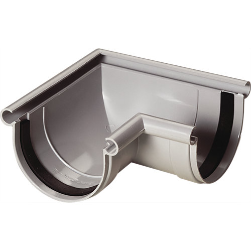 Esquina para canal gris claro 250 cm