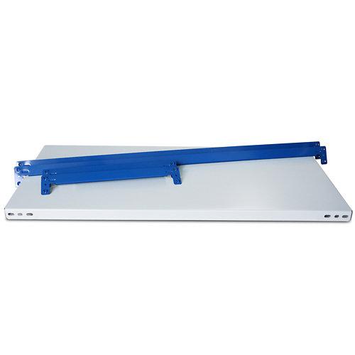 Balda metálica adicional 100x30cm sin tornillos azbl 250kg/b