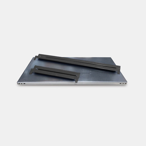 Balda metálica adicional 80x40cm sin tornillos grga 250kg/b