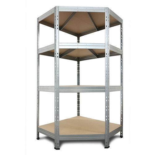 Estantería metálica en kit de metal de 45x90 cm y carga max. 250 kg por balda