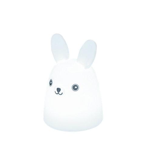 Quitamiedos led ugo bunny blanco pila inspire