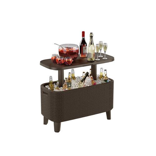 Arcón keter para jardín de resina. modelo bevy bar